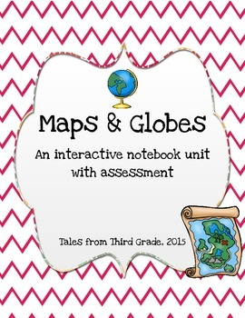 Maps and Globes Interactive Notebook