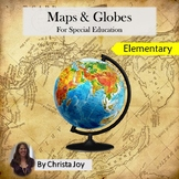 Maps and Globes Unit for Special Education