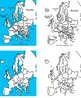 European Maps Clip Art