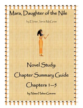 Mara, Daughter of the Nile Novel Study: Chapter Summary Guide