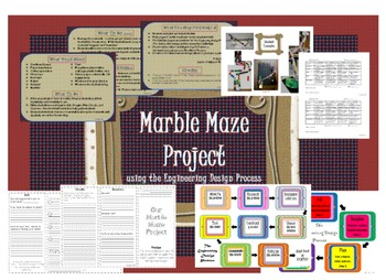 Marble Maze Project Pack - Science Force and Motion