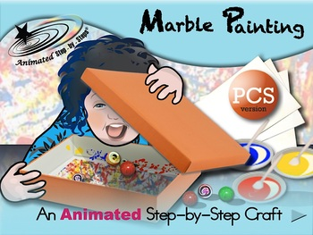 Marble Painting - Animated Step-by-Step Craft PCS