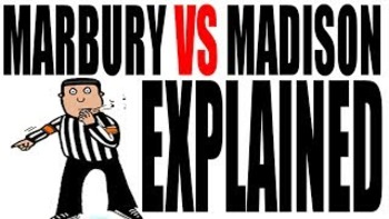 Marbury v Madison Explained: US History Review