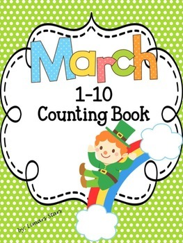 March 1-10 Counting Book