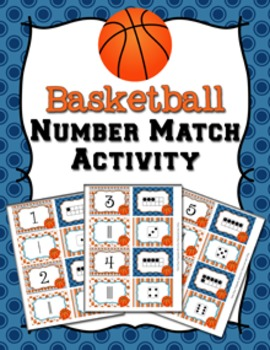 March Basketball Number Match