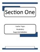 March Book One by John Lewis Teacher Guide Novel Unit and