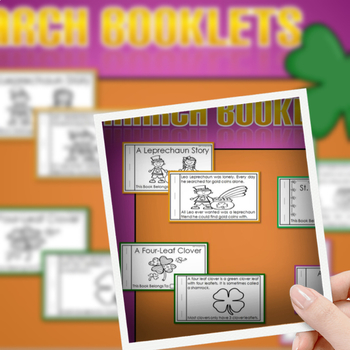 March Booklets (St. Patrick's Day Booklets) Emergent Reader