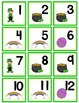 March Calendar Numbers with Patterns
