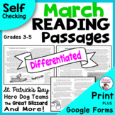 St. Patrick's Day Reading - March Reading Passages