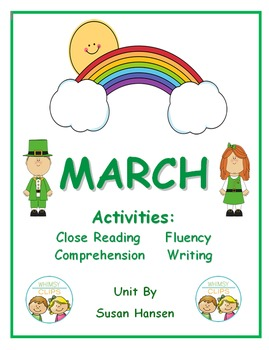 March: Close Reading, Comprehension, Fluency and Writing A