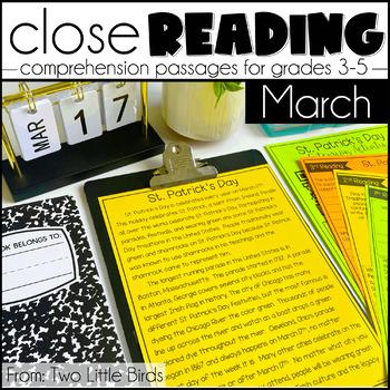March Close Reading Passages