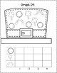March Count and Graph It:  Kindergarten Math Worksheets