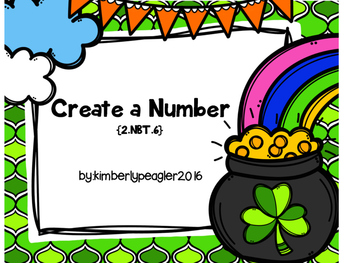 March Create a Number: 2.NBT.6