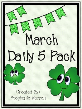 March Daily 5 Pack!