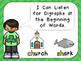 March Daily Skills Review PowerPoints for Kindergarten~Gre
