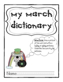 March Dictionary