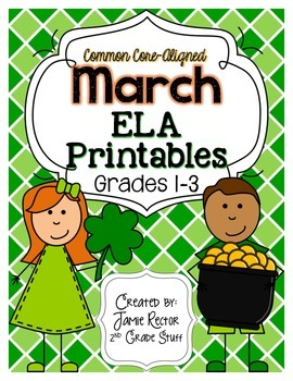 March ELA Printables {Aligned to Common Core Standards}