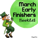 March Early Finishers Booklet