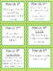 March Family Chit Chat Cards