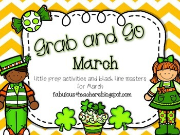March Grab and Go