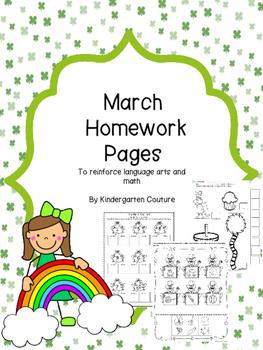 March Homework