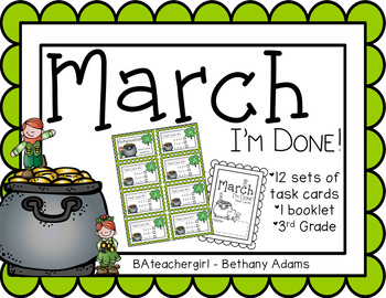 March I'm Done! ~*Third Grade*~