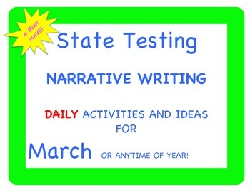 Fables Folktales Tall Tales and More: March Narrative Writ