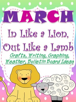 March- In Like A Lion, Out Like A Lamb (Crafts, Printables