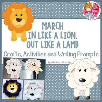 Spring Craft - March in Like a Lion ...