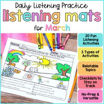 March Listening Activities
