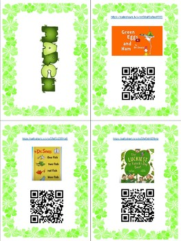 March Listening Books with Links and QR Codes