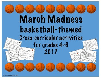 March Madness Cross-Curricular Classroom Activities
