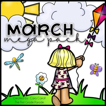 March Math & LIteracy Activities