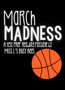 March Madness Reading Passage for Test Prep