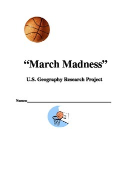 March Madness U.S. Geography Project
