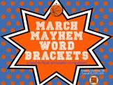 March Mayhem Word Brackets: A Head-to-Head Speech Sound Co