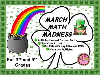 St. Patrick's Day Math - 3rd and 4th Grades