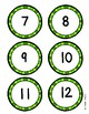 March Math Number Match Game 1-20- St. Patrick's Day