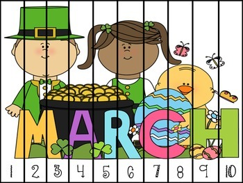 March Math Puzzles