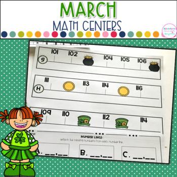 March Math Station- St. Patrick's Theme