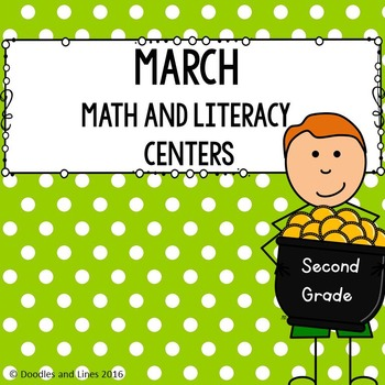 March Math and Literacy Centers