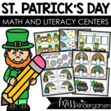 March Math and Literacy Centers {Bundled}