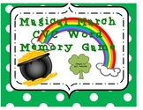 March Memory Game - CVC Words