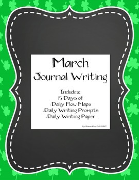 March Monthly Writing: Thinking Maps, Daily Prompts and Di