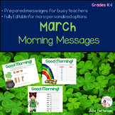 March Morning Messages