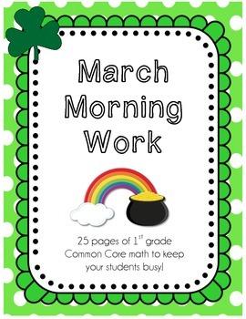 March Morning Work - CC Math Skills