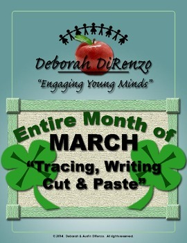 March Morning Work - Entire month of word tracing, writing