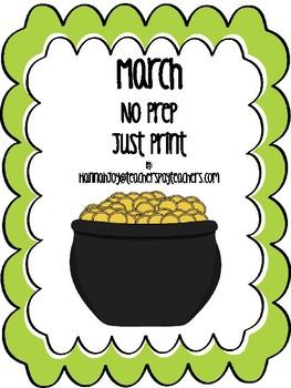 March: No Prep, Just Print!