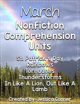 March Nonfiction Comprehension Units
