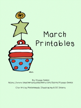 March ELA Practice Pages